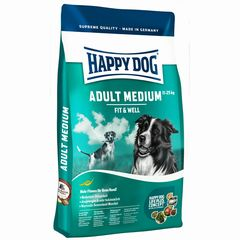 Happy Dog Fit&Well Med.Adult 12,5kg