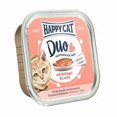 Happy Cat Duo Geflügel & Lachs 100g