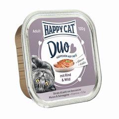 Happy Cat Duo Rind & Wild 100g